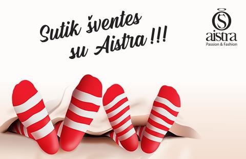 Sutik Šventes kartu su AISTRA!!!