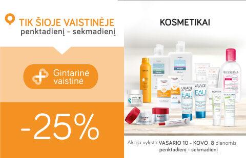 Kosmetikai -25%