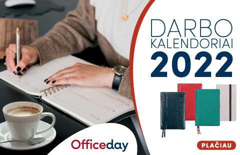 Darbo kalendoriai patogiam ir stilingam darbų planavimui!