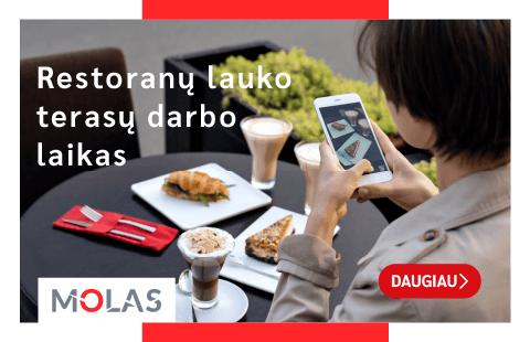 LAUKO TERASOS JAU DIRBA!