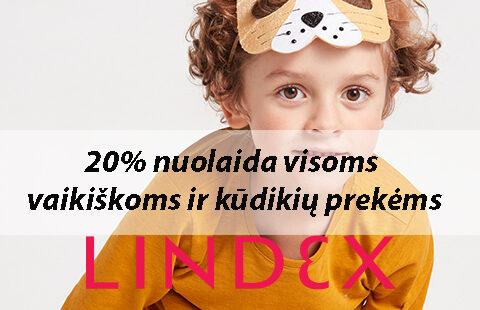 -20% vaikiškoms ir kūdikių prekėms